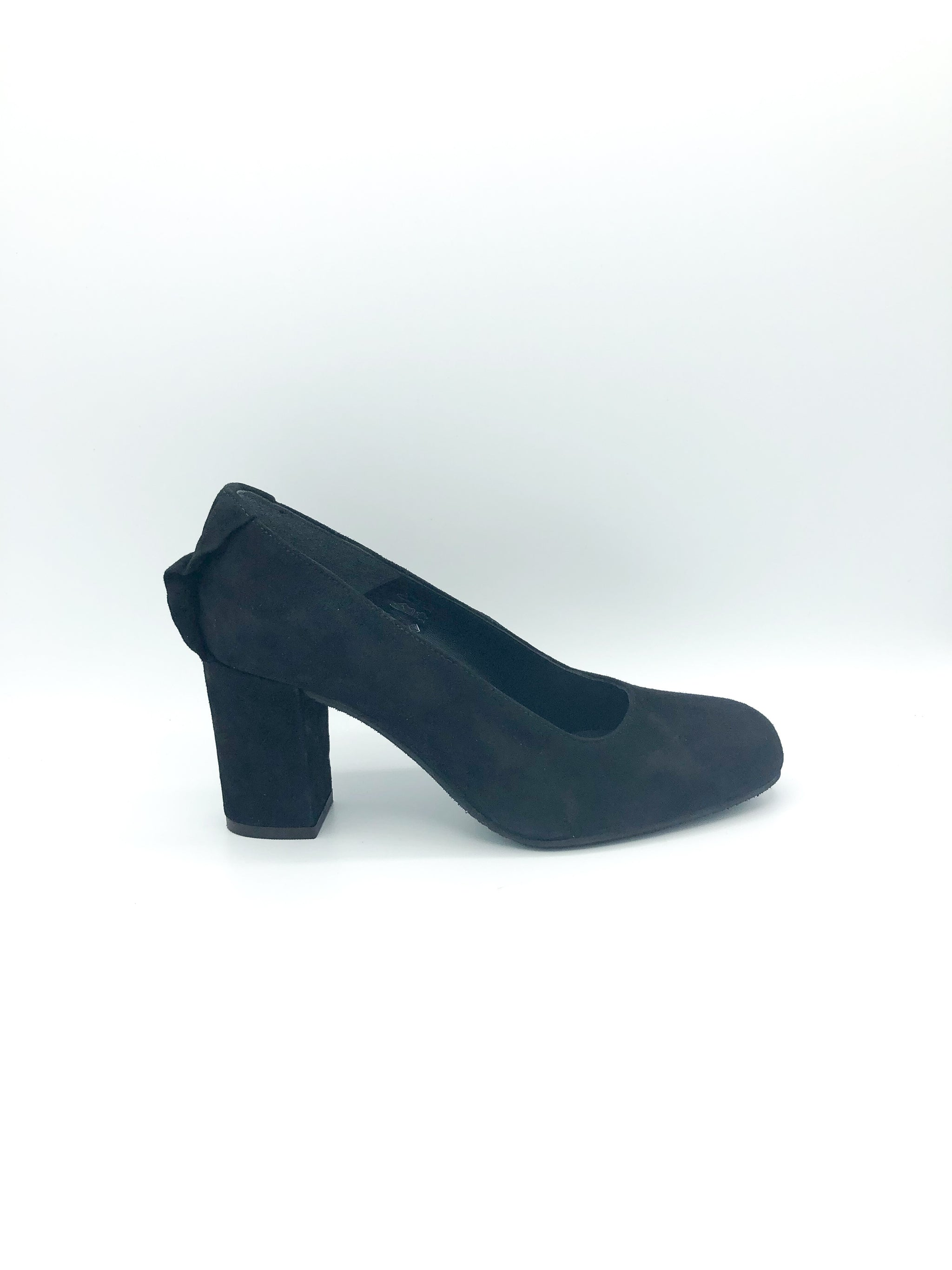 ATELIERS - SHIRA IN BLACK SUEDE