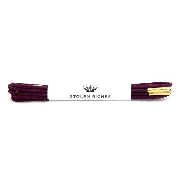 STOLEN RICHES - DRESS LACES (5-6 EYELETS) IN PARACHUTE MAROON