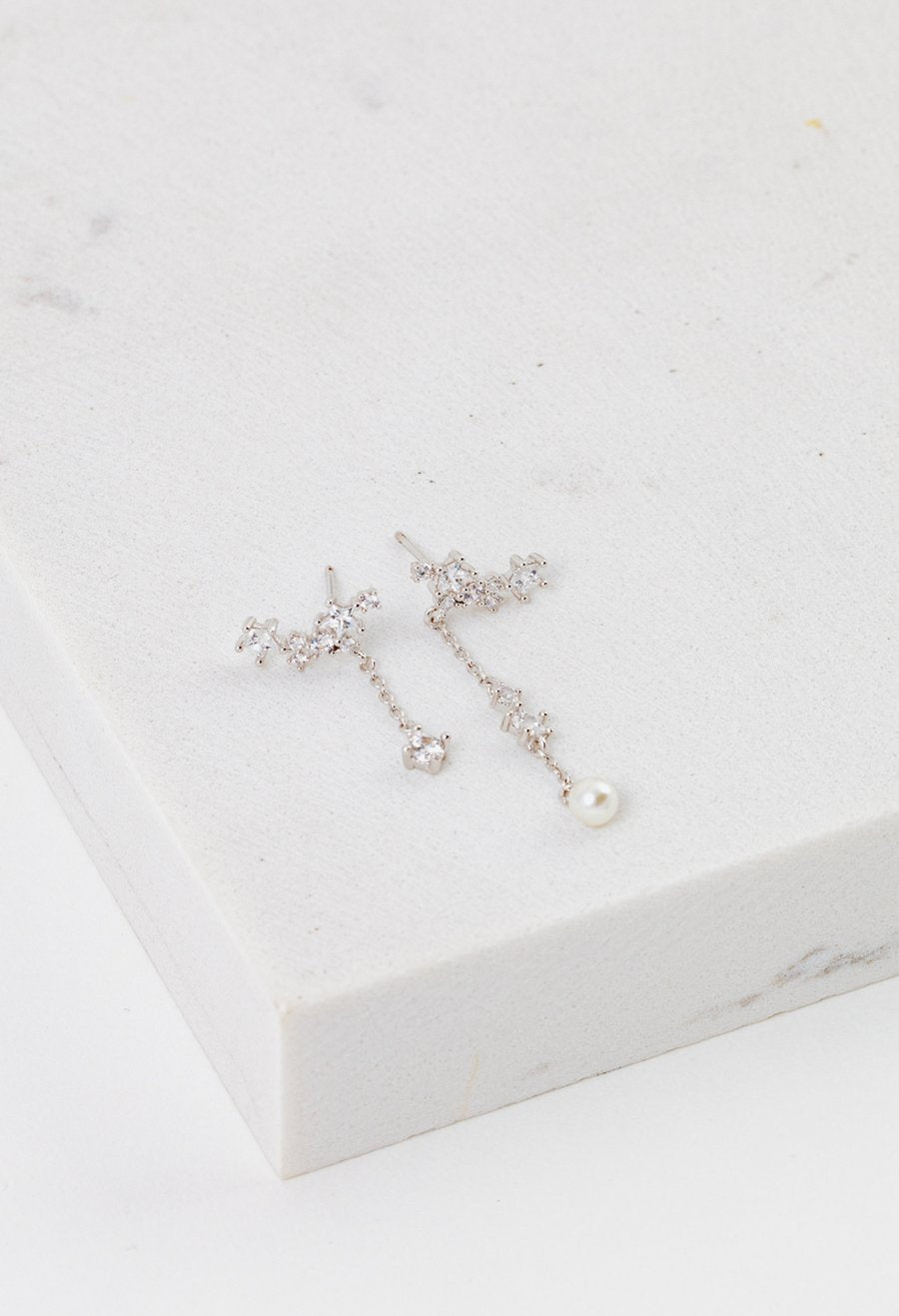 LOVER'S TEMPO - GALAXY CLIMBER EARRINGS IN SILVER