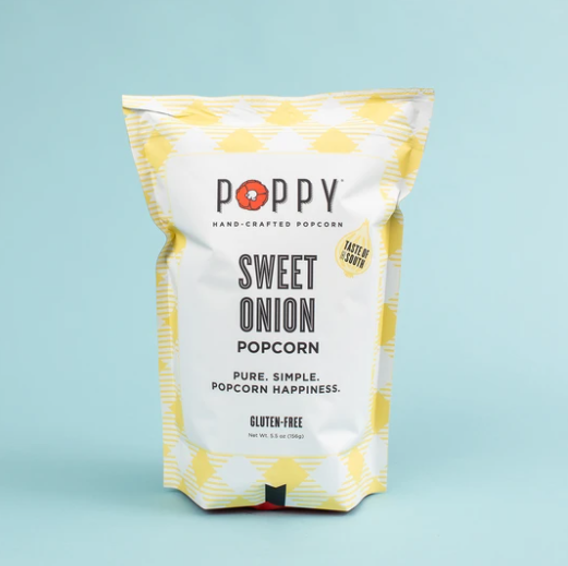 POPPY HAND-CRAFTED POPCORN - SWEET ONION SOTHERN SERIES BAG