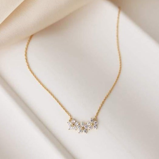 LOVER'S TEMPO - BLOSSOM NECKLACE IN GOLD