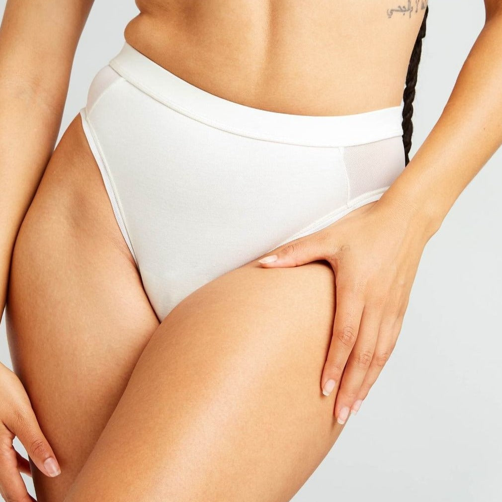 RICHER POORER - WOMEN'S HIGH CUT BRIEF IN BONE