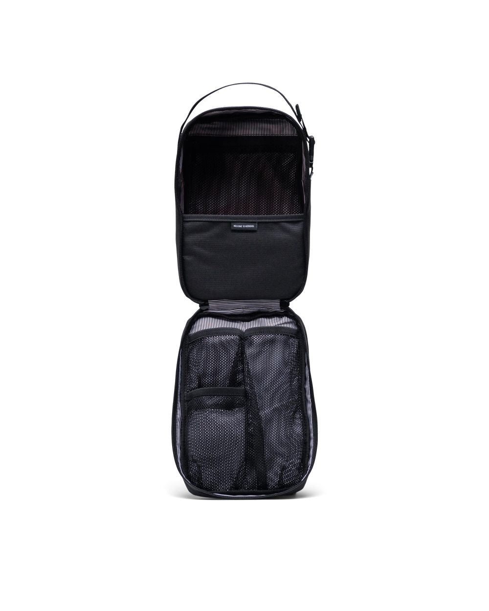 HERSCHEL - CHAPTER TRAVEL KIT CONNECT IN BLACK
