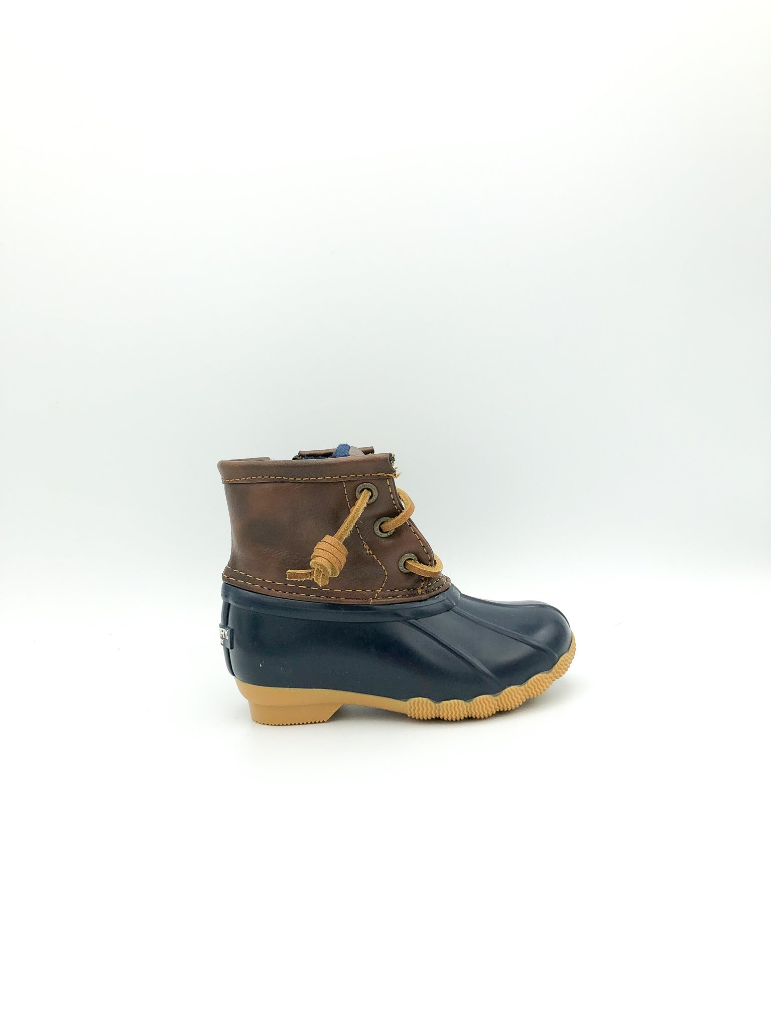 SPERRY - SALTWATER BOOT IN NAVY (CHILD 5-12)
