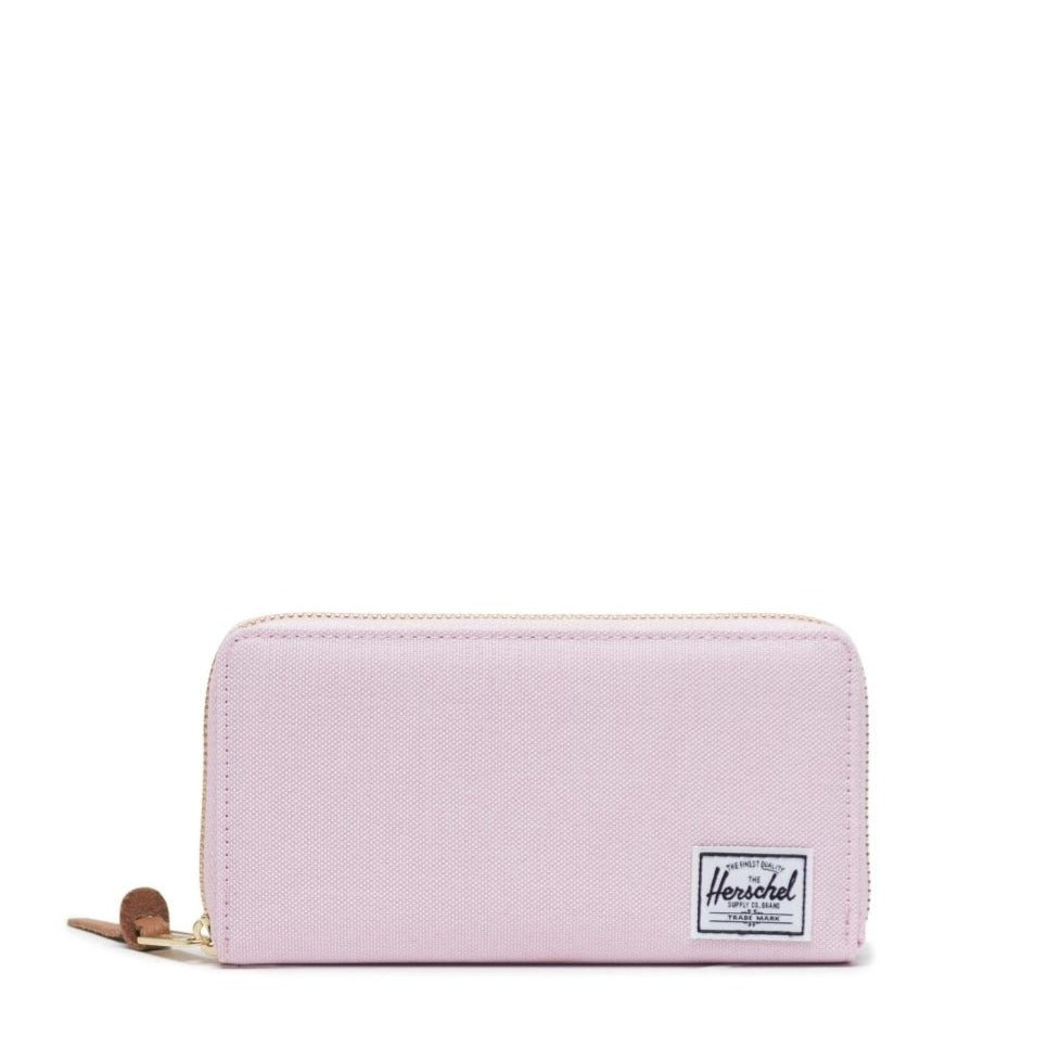HERSCHEL - THOMAS WALLET IN PINK LADY CROSSHATCH