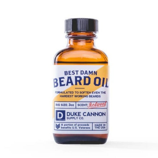 DUKE CANNON - BEST DAMN BEARD OIL