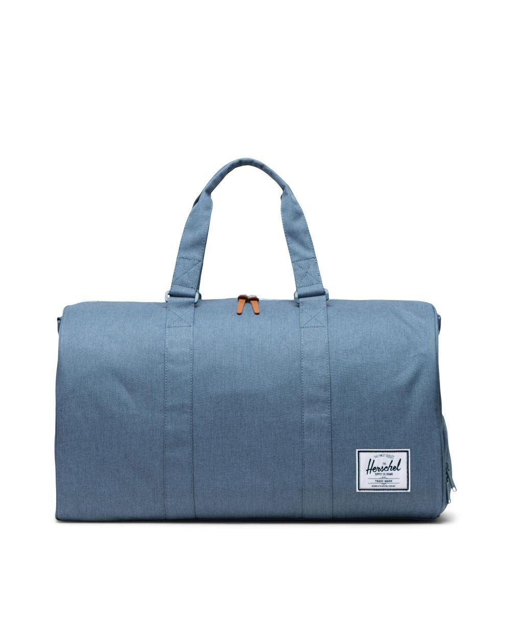 HERSCHEL - NOVEL DUFFLE IN BLUE MIRAGE CROSSHATCH
