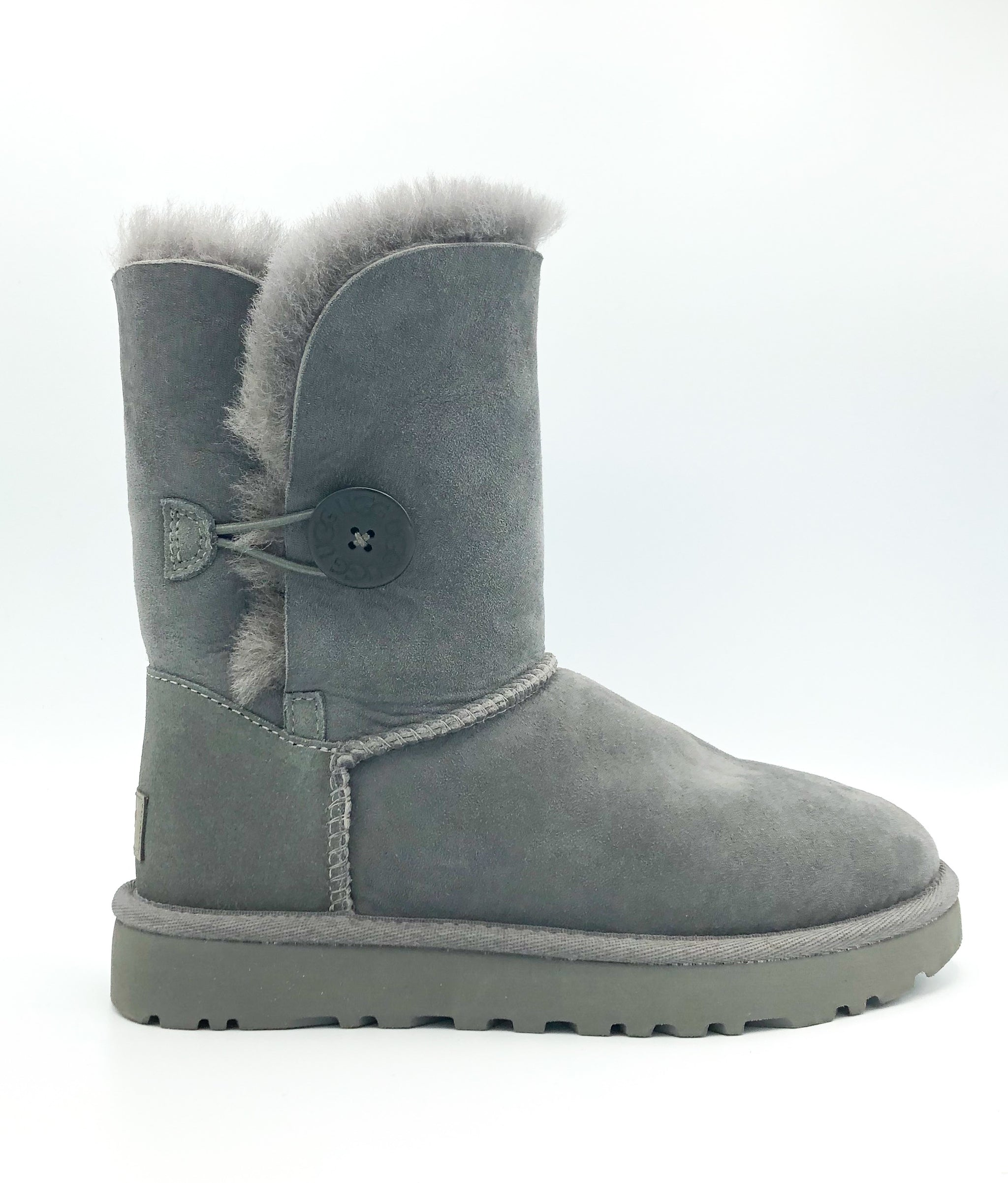 UGG - BAILEY BUTTON II IN GREY