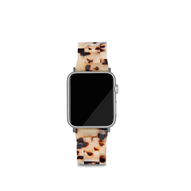MACHETE - APPLE WATCH BAND IN BLONDE TORTOISE