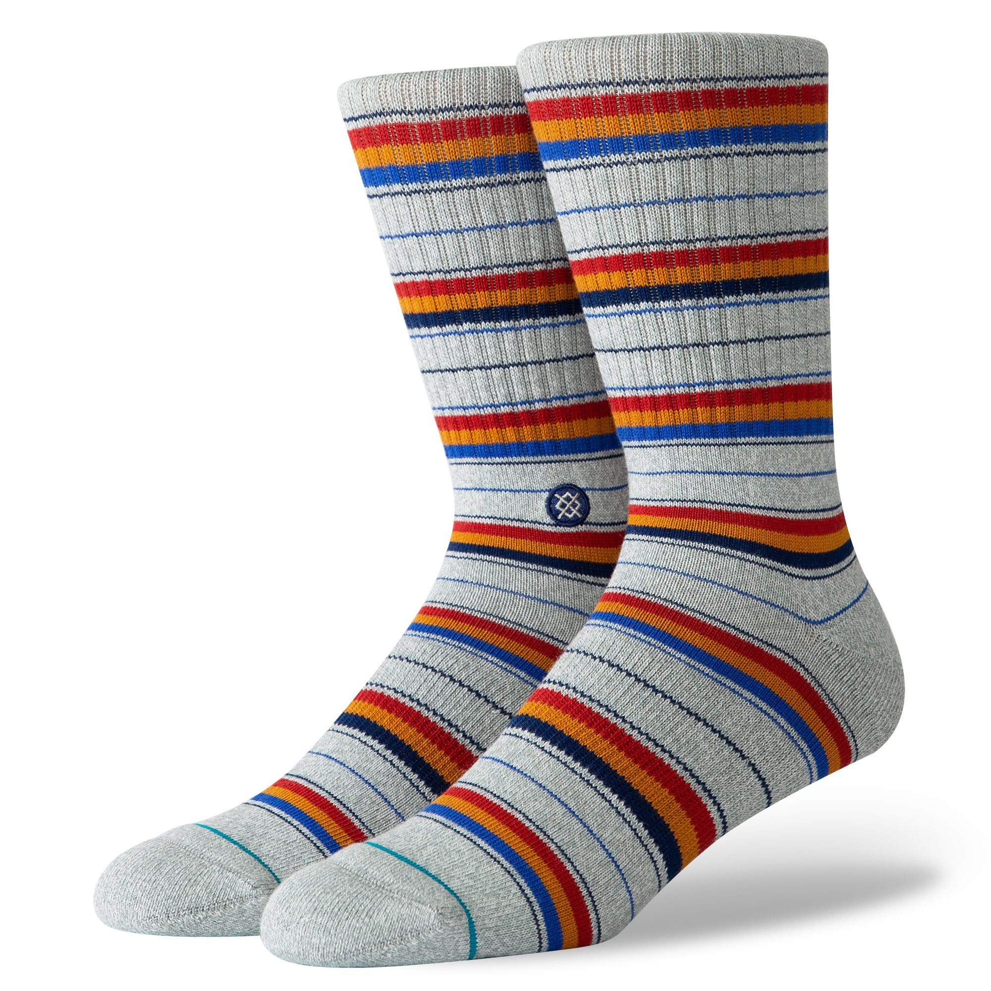 STANCE - M FRANKLIN IN HEATHER GREY