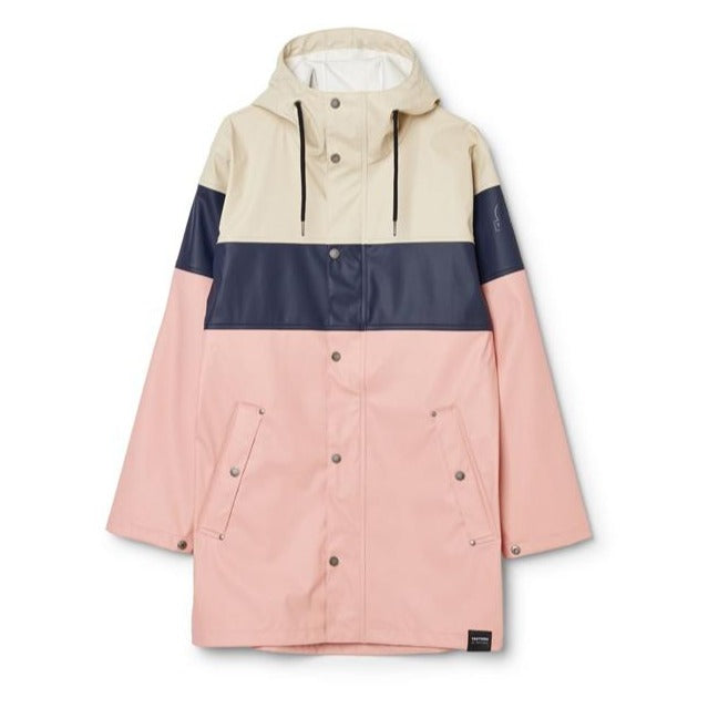 TRETORN - UNISEX WINGS PLUS ECO RAIN JACKET IN SAND/HEATHER/NAVY