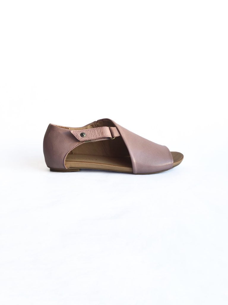 BUENO - KALE IN DUSTY MAUVE LEATHER
