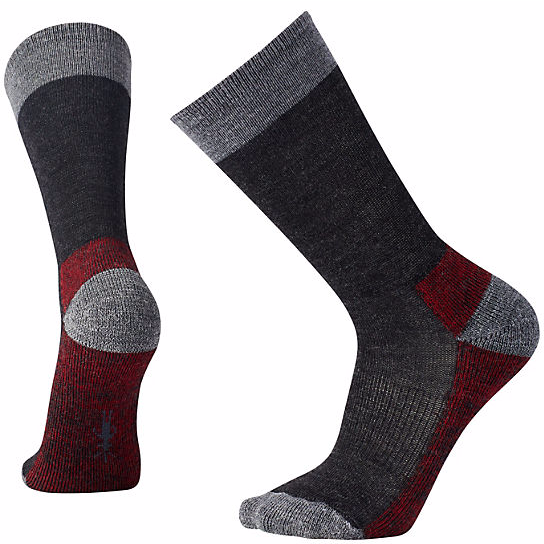 SMARTWOOL - HIKER ST. IN CHARCOAL HEATHER