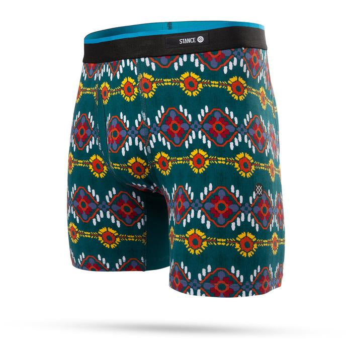 STANCE - MENS AMIGO GREEN BOXER BRIEF