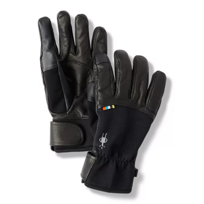 SMARTWOOL - SPRING GLOVE IN BLACK