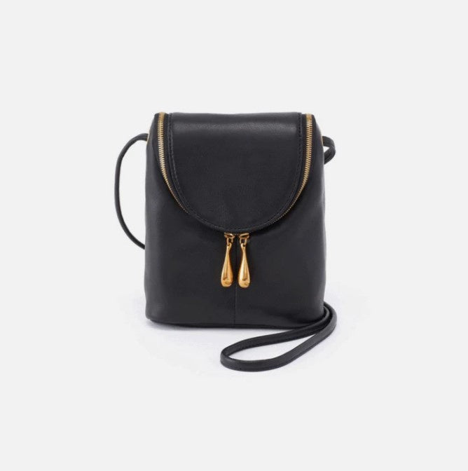 HOBO - FERN CROSSBODY BAG IN BLACK