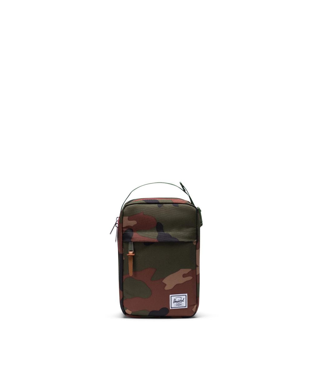 HERSCHEL - CHAPTER TRAVEL KIT CONNECT IN WOODLAND CAMO