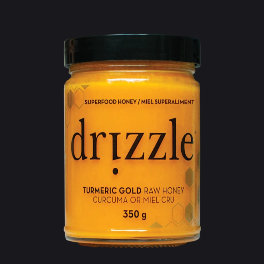 DRIZZLE - TURMERIC GOLD SUPERFOOD HONEY