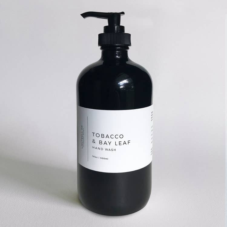 LIGHTWELL CO - TOBACCO & BAY LEAF HAND WASH