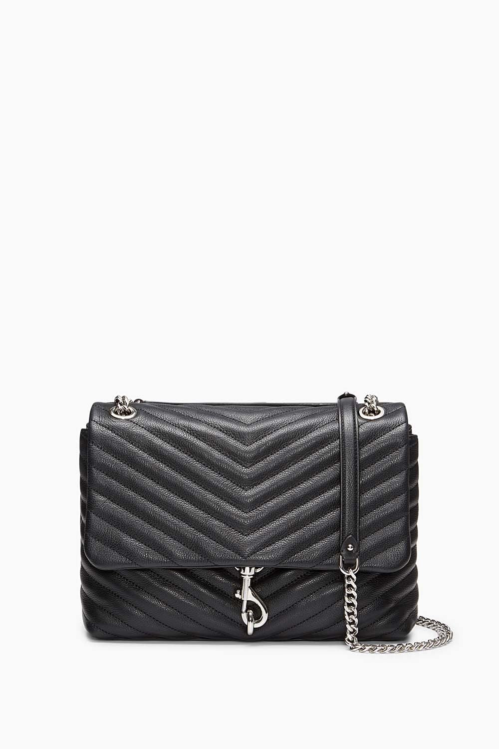 REBECCA MINKOFF - EDIE CROSSBODY IN BLACK