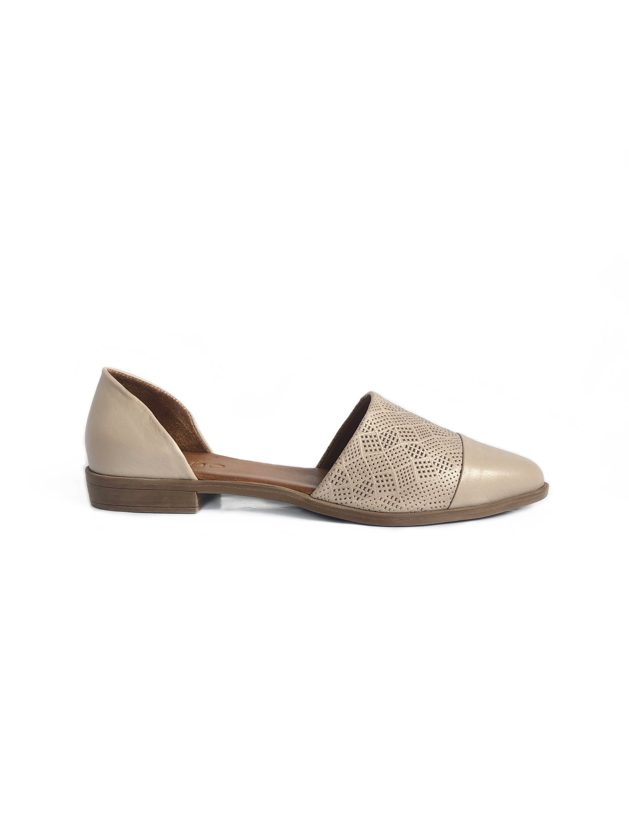 BUENO - BELLA IN LIGHT GREY LEATHER