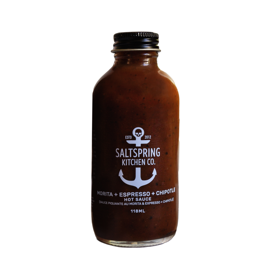 SALT SPRING KITCHEN - MORITA & ESPRESSO & CHIPOTLE HOT SAUCE