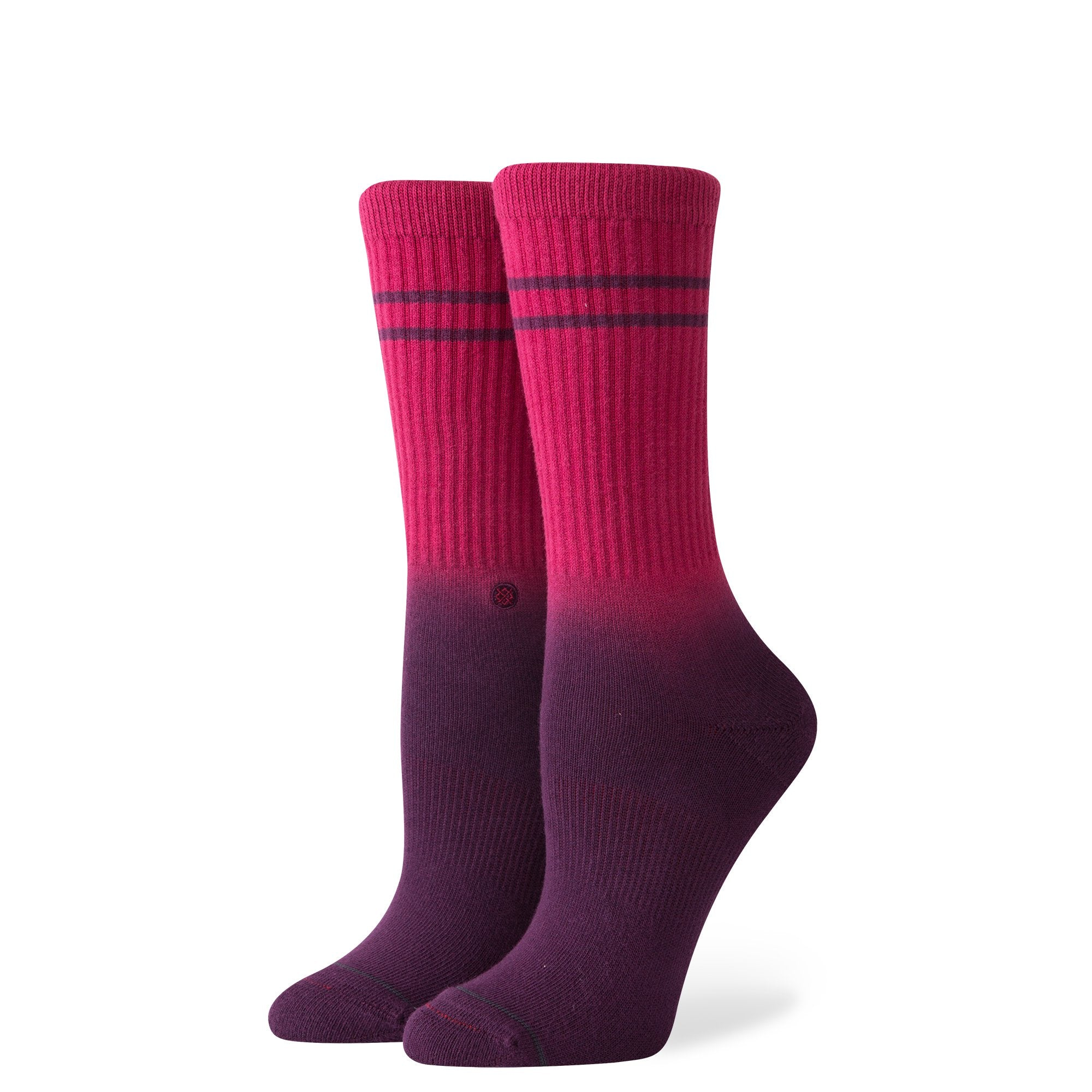 STANCE - UNCOMMON DIP CREW IN MAROON