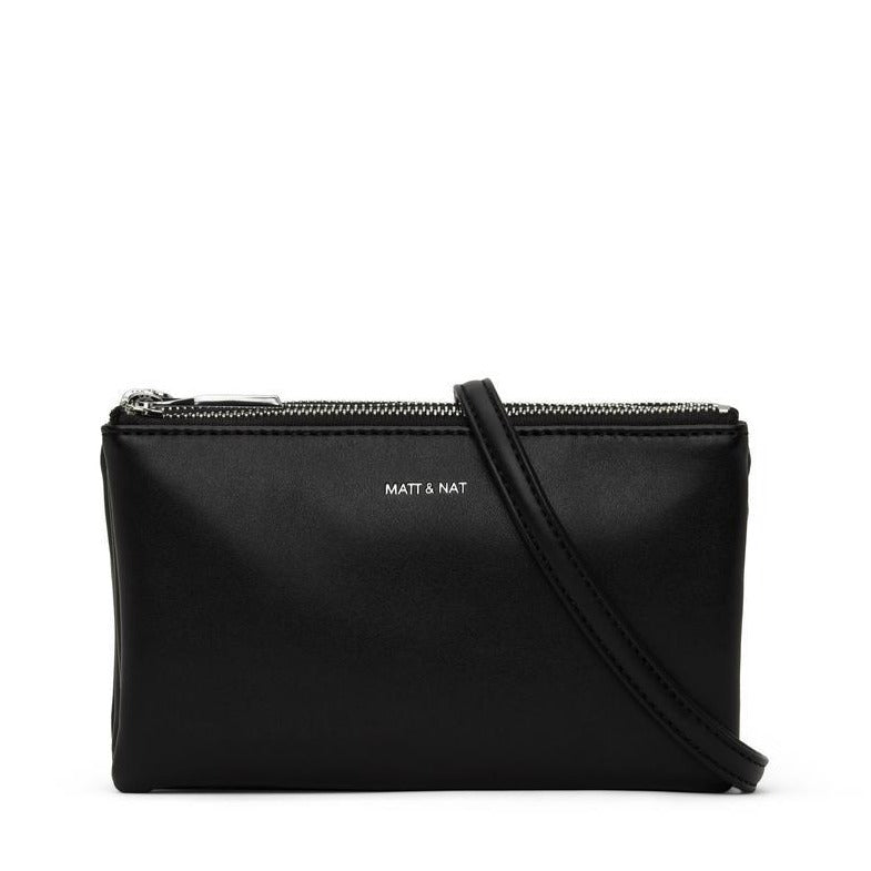 MATT & NAT - TRIPLET CROSSBODY IN BLACK