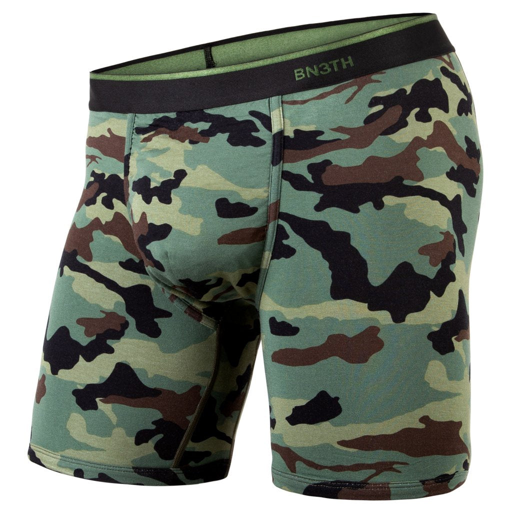 BN3TH - CLASSIC BOXER BRIEF PRINT CAMO GREEN