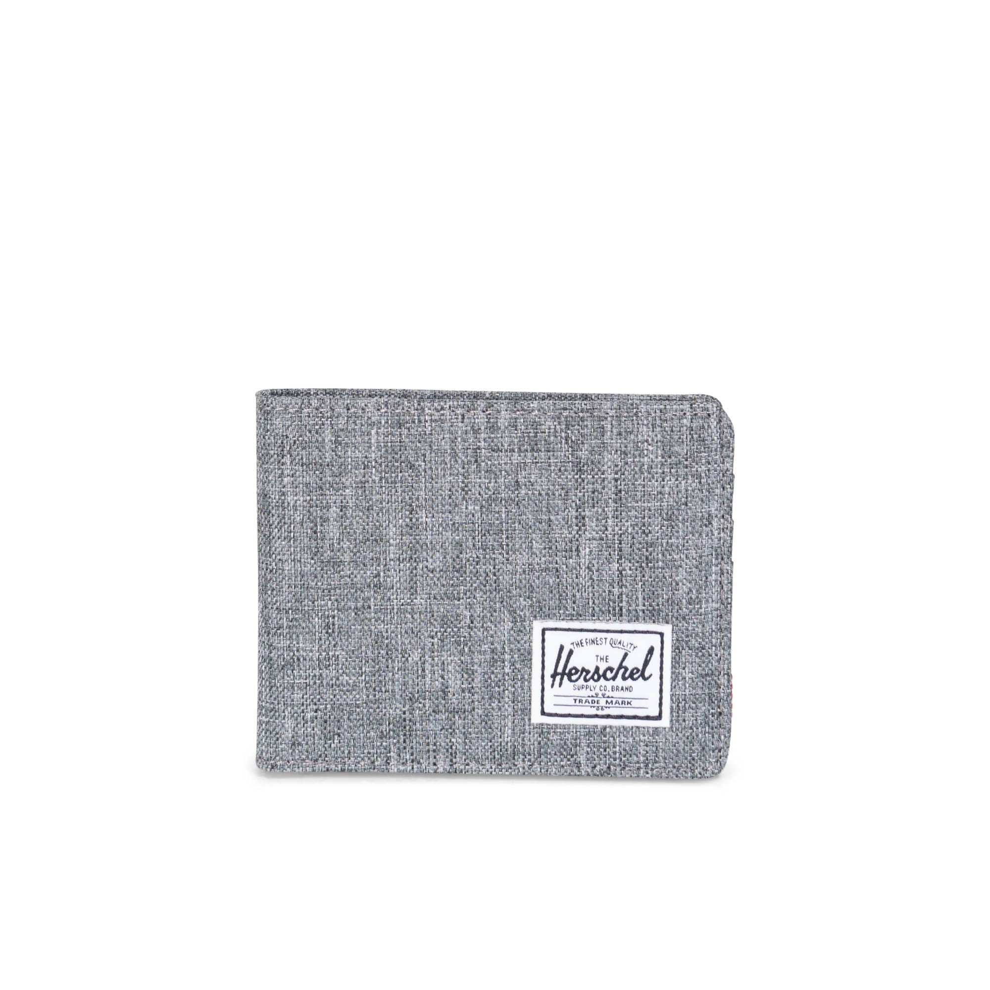 HERSCHEL - ROY WALLET IN RAVEN CROSSHATCH