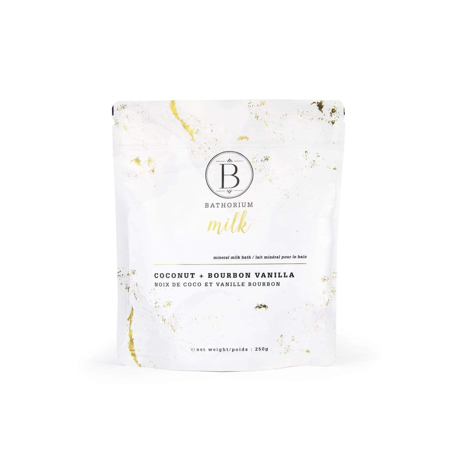 BATHORIUM- MILK COCONUT + VANILLA MINERAL BATH SOAK