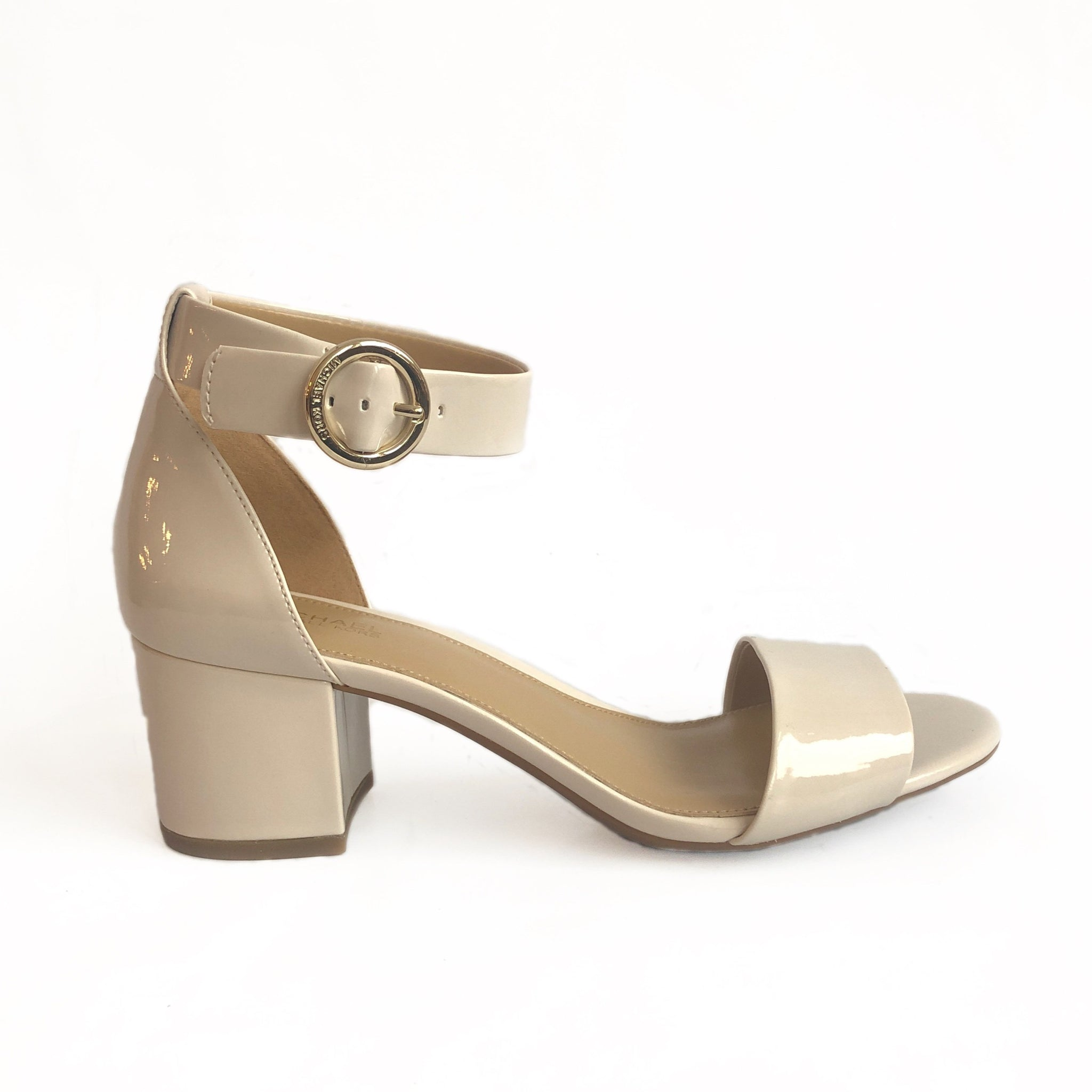 MICHAEL KORS - LENA FLEX MID IN LIGHT CREAM