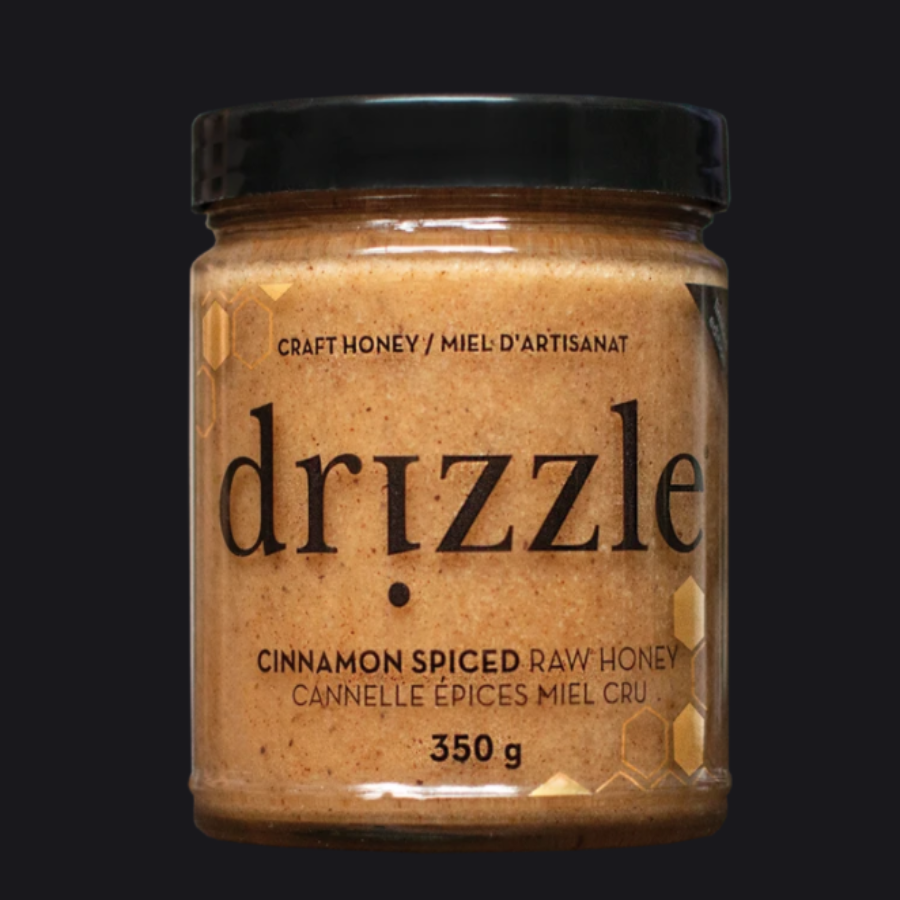 DRIZZLE - CINNAMON SPICED CRAFT HONEY