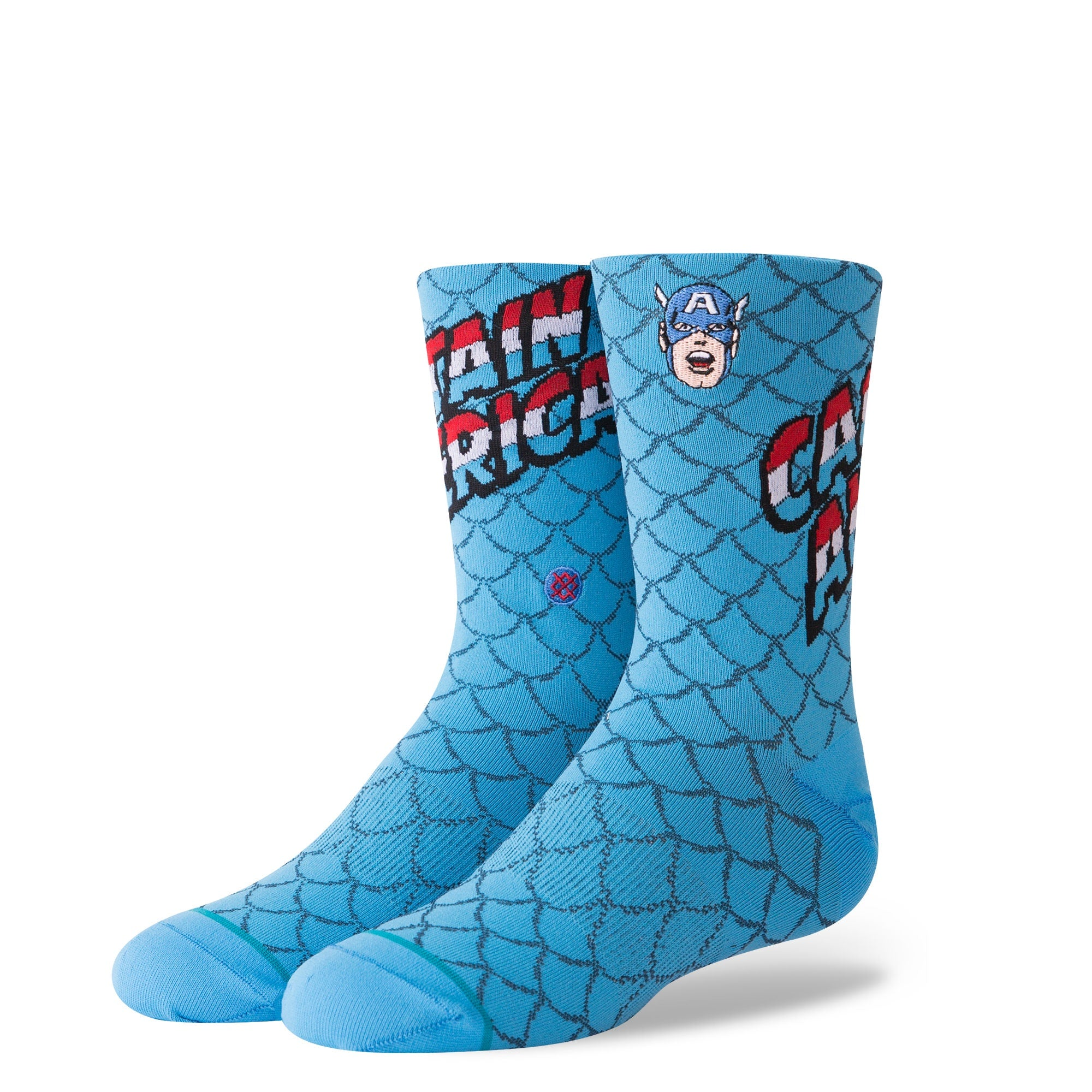 STANCE - BOYS MARVEL CAPTAIN AMERICA IN BLUE