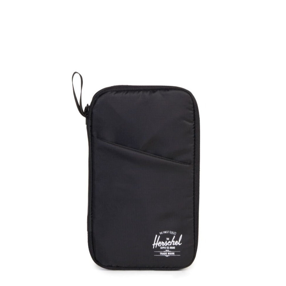 HERSCHEL - TRAVEL WALLET IN BLACK