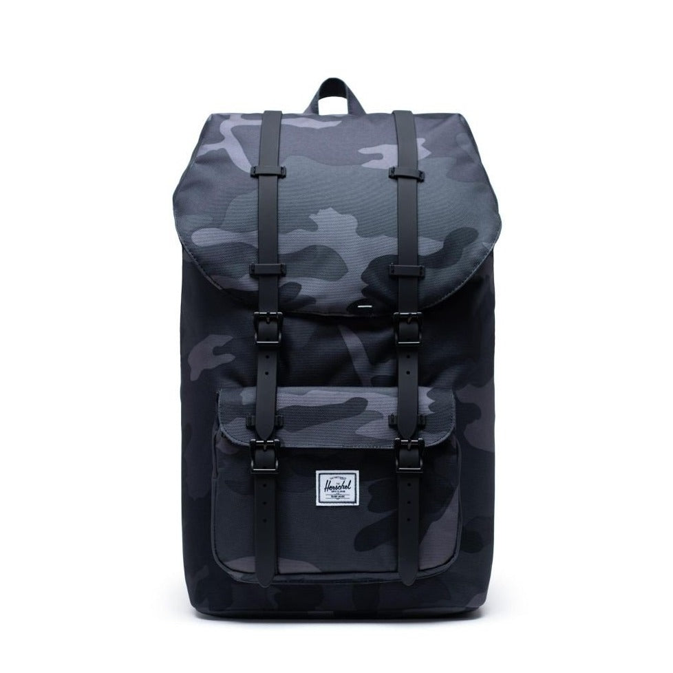 HERSCHEL - LITTLE AMERICA BACKPACK IN NIGHT CAMO