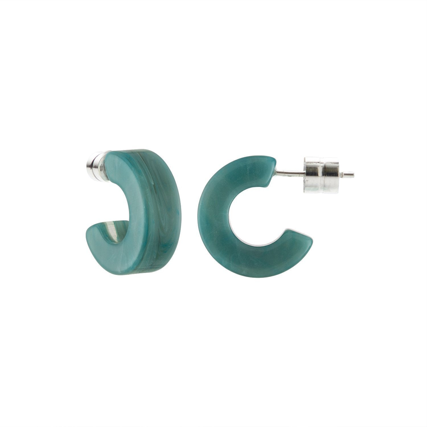 MACHETE - MUSE HOOPS IN JADEITE GREEN