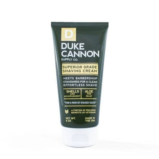 DUKE CANNON - SUPERIOR GRADE SHAVING CREAM