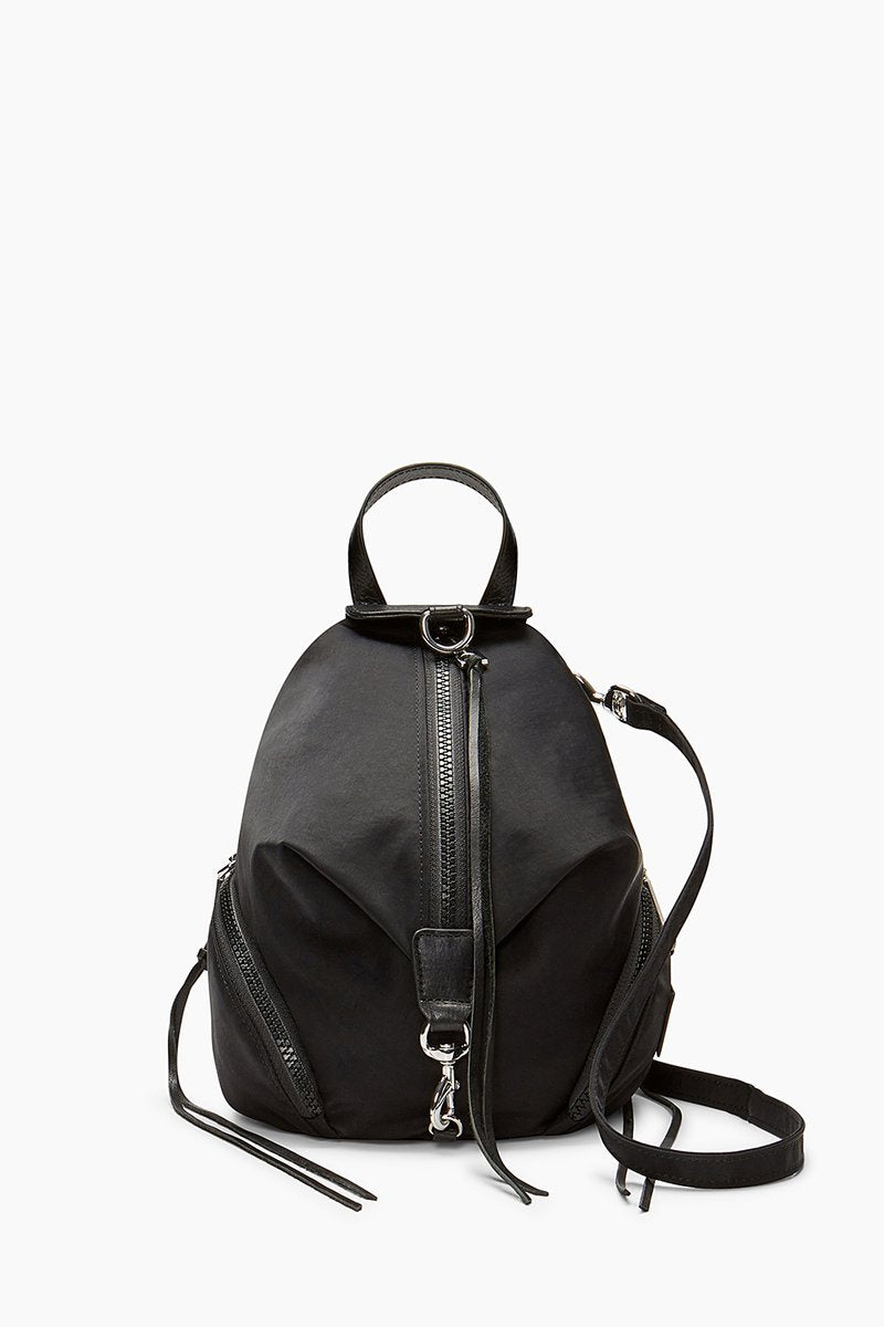 REBECCA MINKOFF - JULIAN NYLON BACKPACK IN BLACK