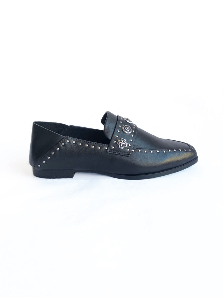 SOL SANA - CLIDE LOAFER IN BLACK