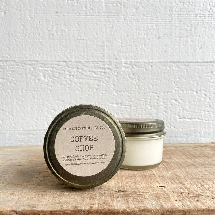 FARM KITCHEN CANDLE CO. - COFFEE SHOP MINI SOY CANDLE