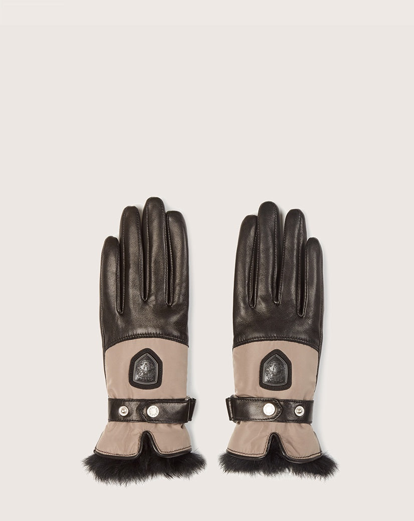 RUDSAK - STROMBOLI GLOVE IN BLACK/DOVE