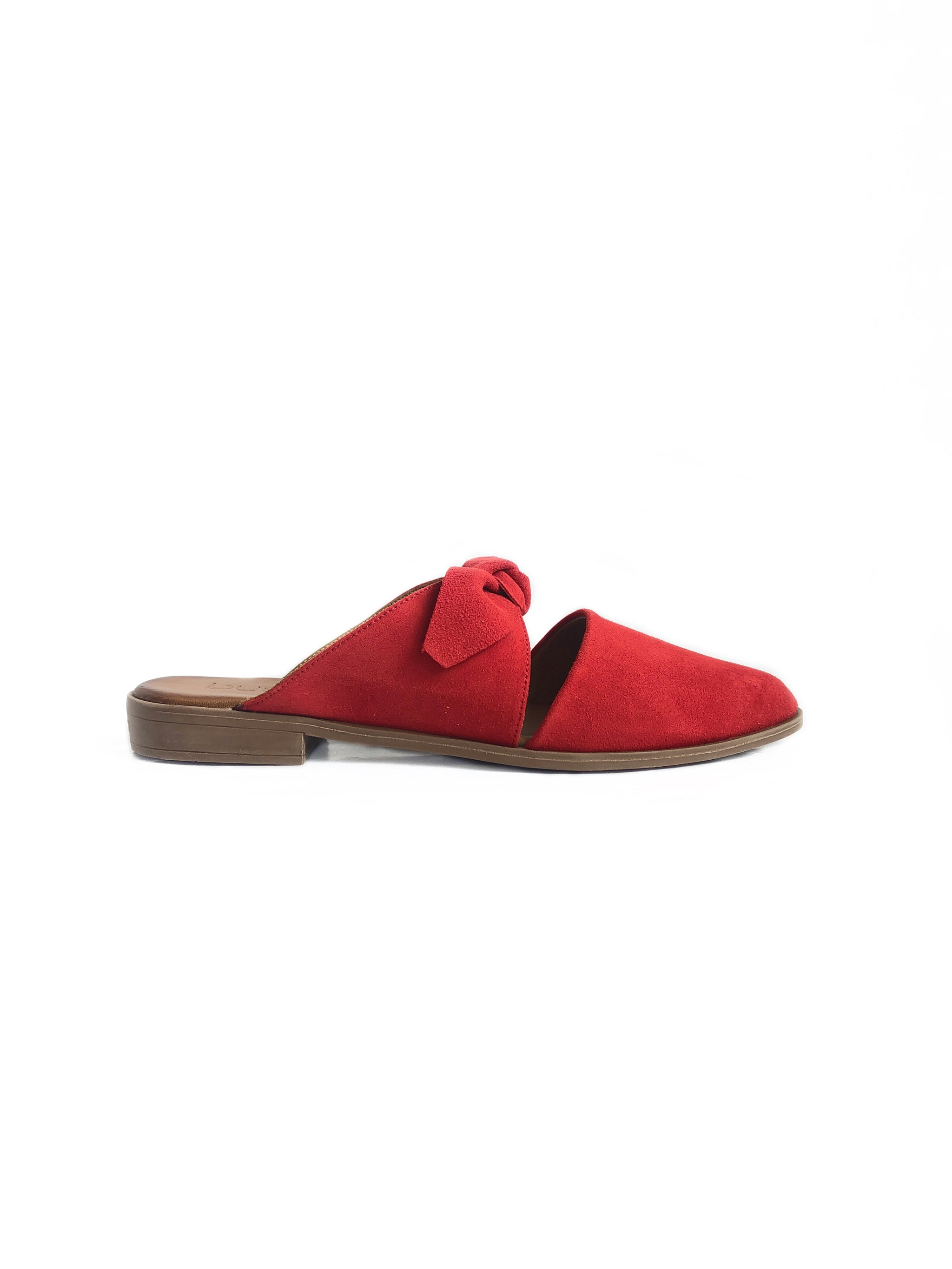 BUENO - BOWERY IN RED SUEDE