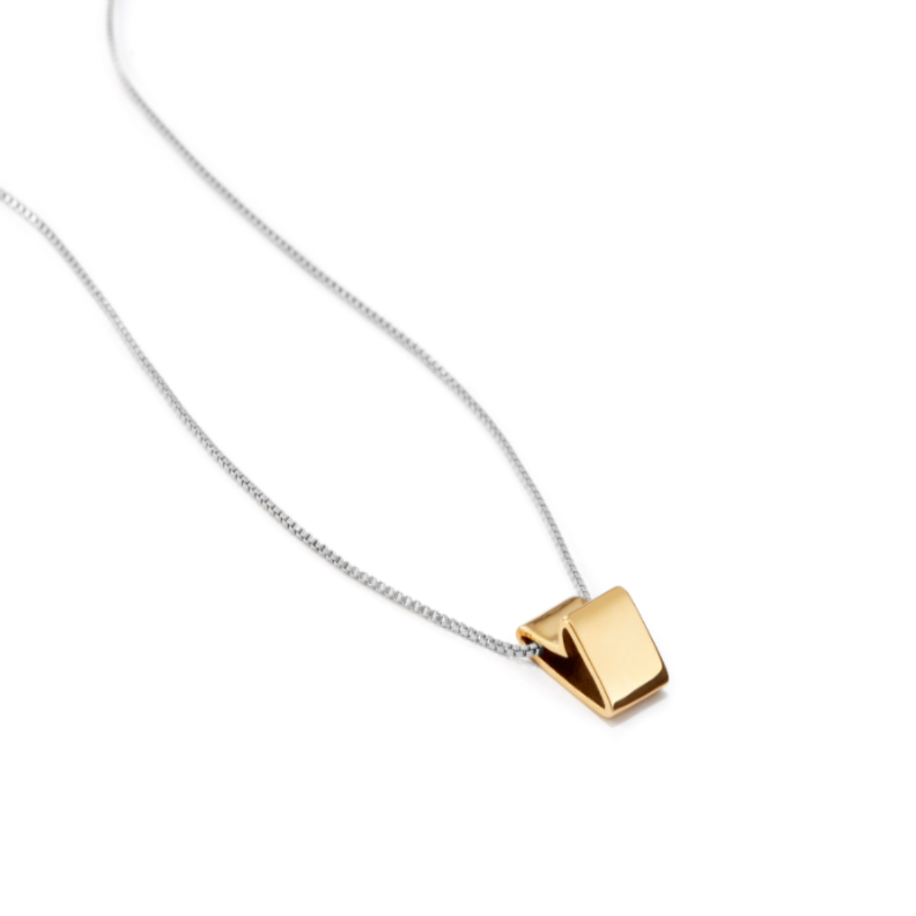 JENNY BIRD - ALL LOVE PENDANT IN TWO TONE