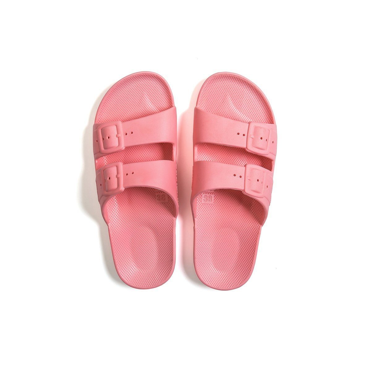 FREEDOM MOSES - FREEDOM SLIPPER IN PINK MARTINI (KIDS)
