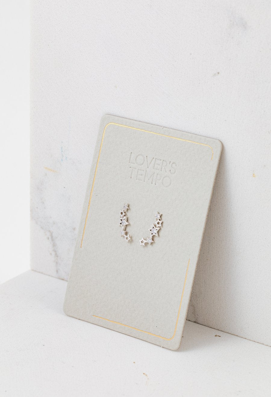 LOVER'S TEMPO - GAMMA CLIMBER EARRINGS IN SILVER