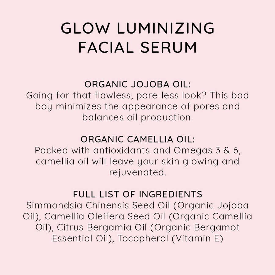 NIU BODY - GLOW LUMINIZING FACIAL SERUM