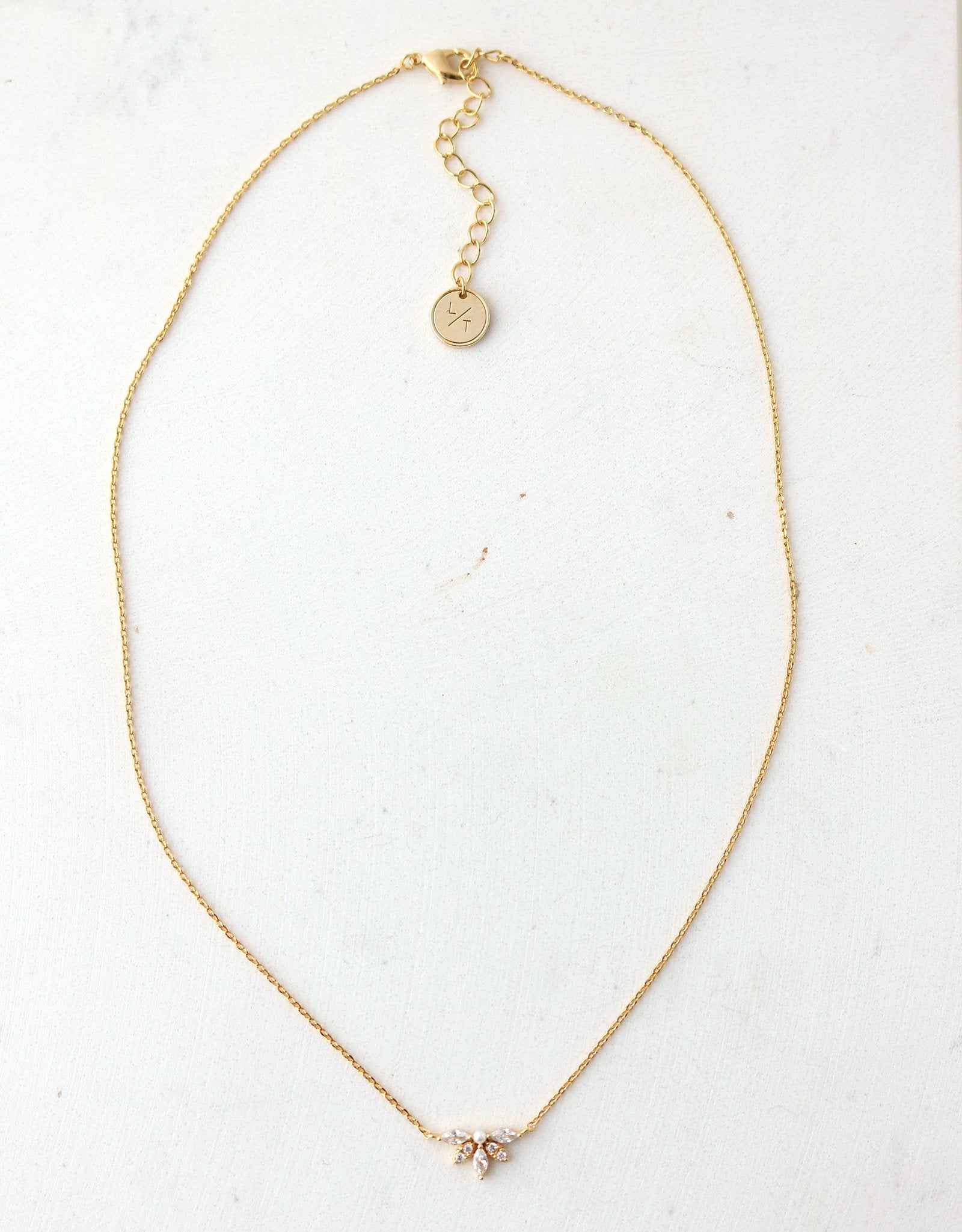 LOVER'S TEMPO - HARLOWE NECKLACE IN GOLD