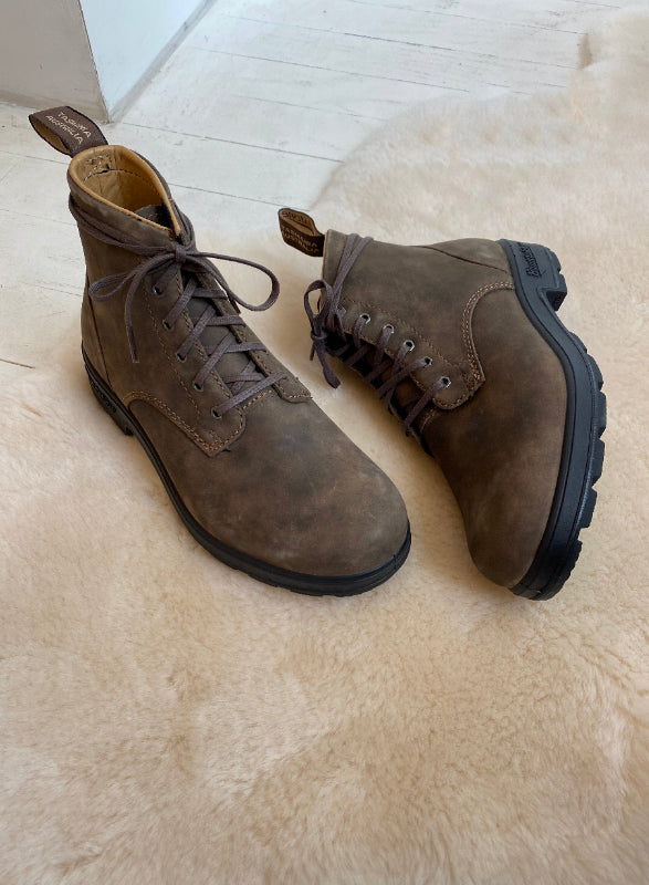 BLUNDSTONE - 1937 LACE UP RUSTIC BROWN