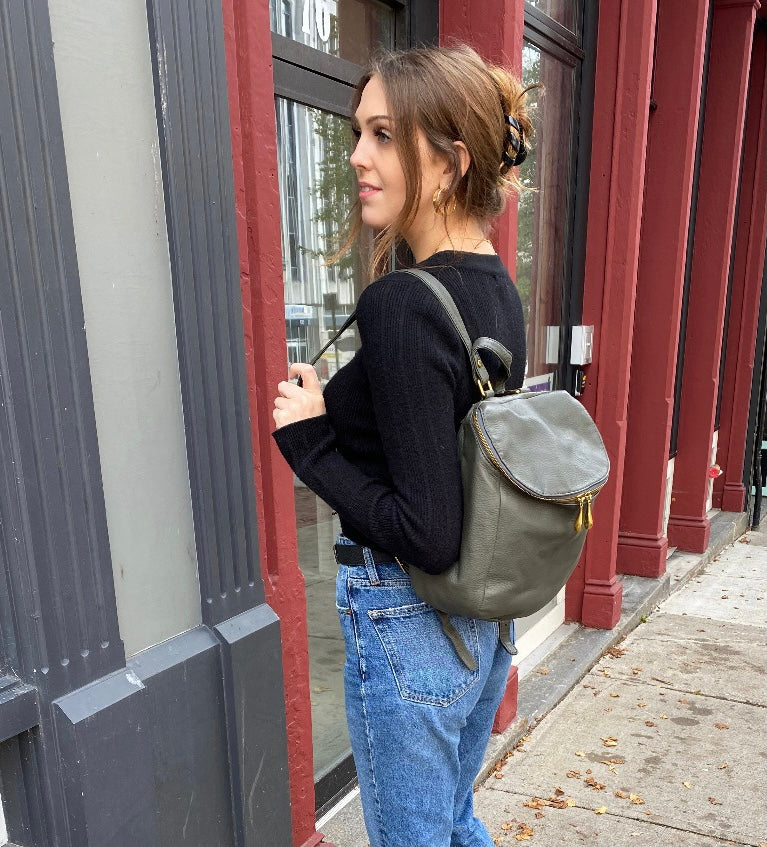 HOBO - RIVER BACKPACK IN SAGE